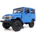 Автомобиль внедорожник WPL C34 4WD, с подсветкой, синий