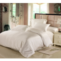 Постельное белье шёлковое Luxe Dream Айвори евро на резинке (с нав. 50х70)