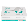 Шприц одноразовый INEKTA 3-х компонентный 20мл №10