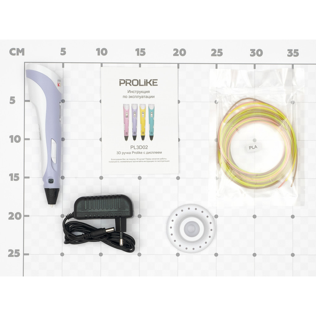 3D ручка с дисплеем Prolike сиреневая PL3D02PR