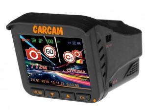 Видеорегистратор с радар-детектором CARCAM COMBO 5 LITE, GPS, ГЛОНАСС уценка 6347