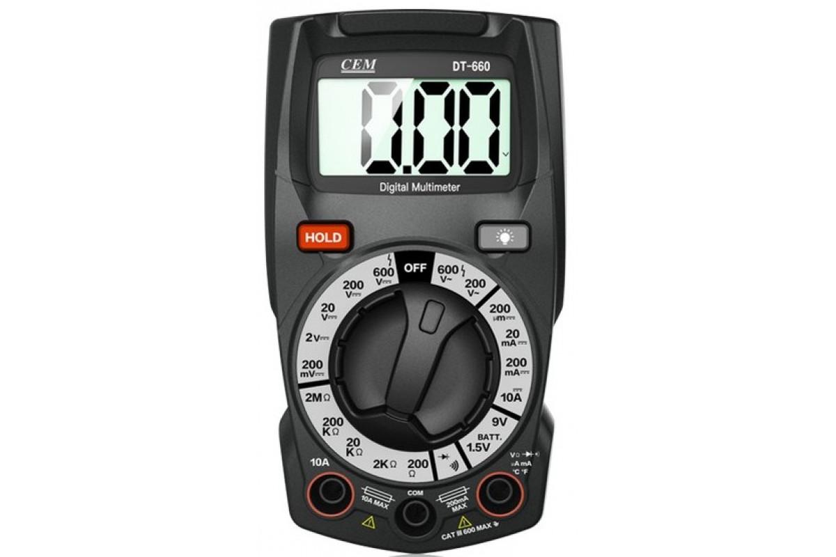 Мультиметр CEM DT-660