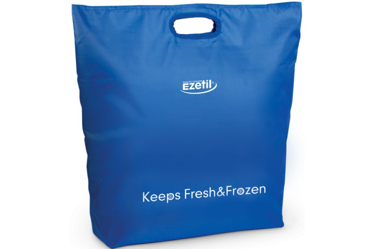 Сумка-холодильник (термосумка) Ezetil KC Fresh and Frozen, 30L (синяя)