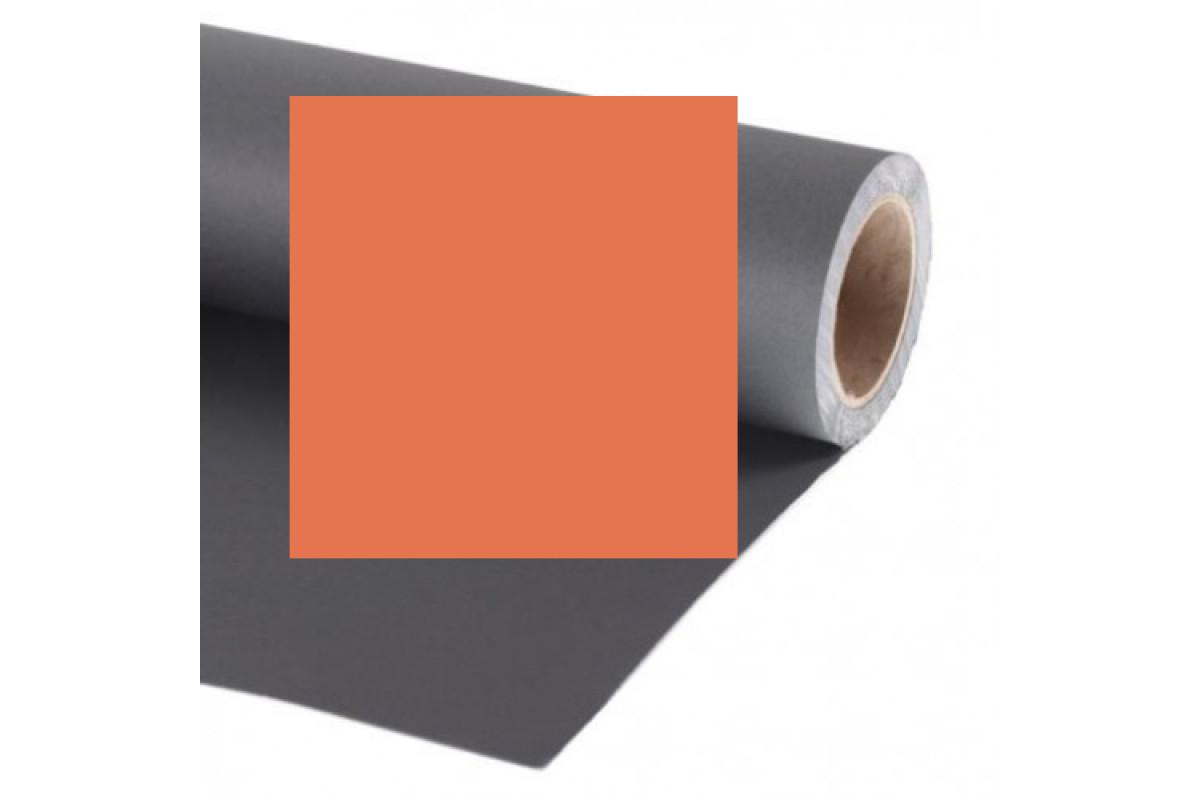 Фон бумажный Raylab 023 Orange оранжевый 2.72x11 м