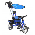 Capella Town Rider - детский трехколесный велосипед с колесами EVA Blue (синий)