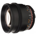 Samyang 85mm 1.5 Vdslr II Canon EF