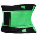 Фитнес пояс для похудения CleverCare, зеленый, размер XXL