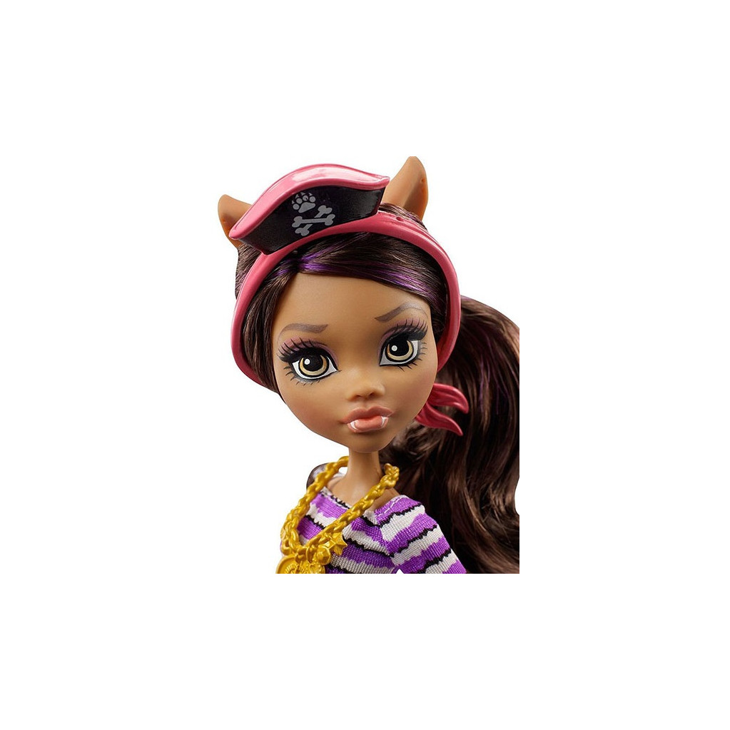 Monster High Пиратская авантюра Клаудин Вульф кукла Mattel DTV84
