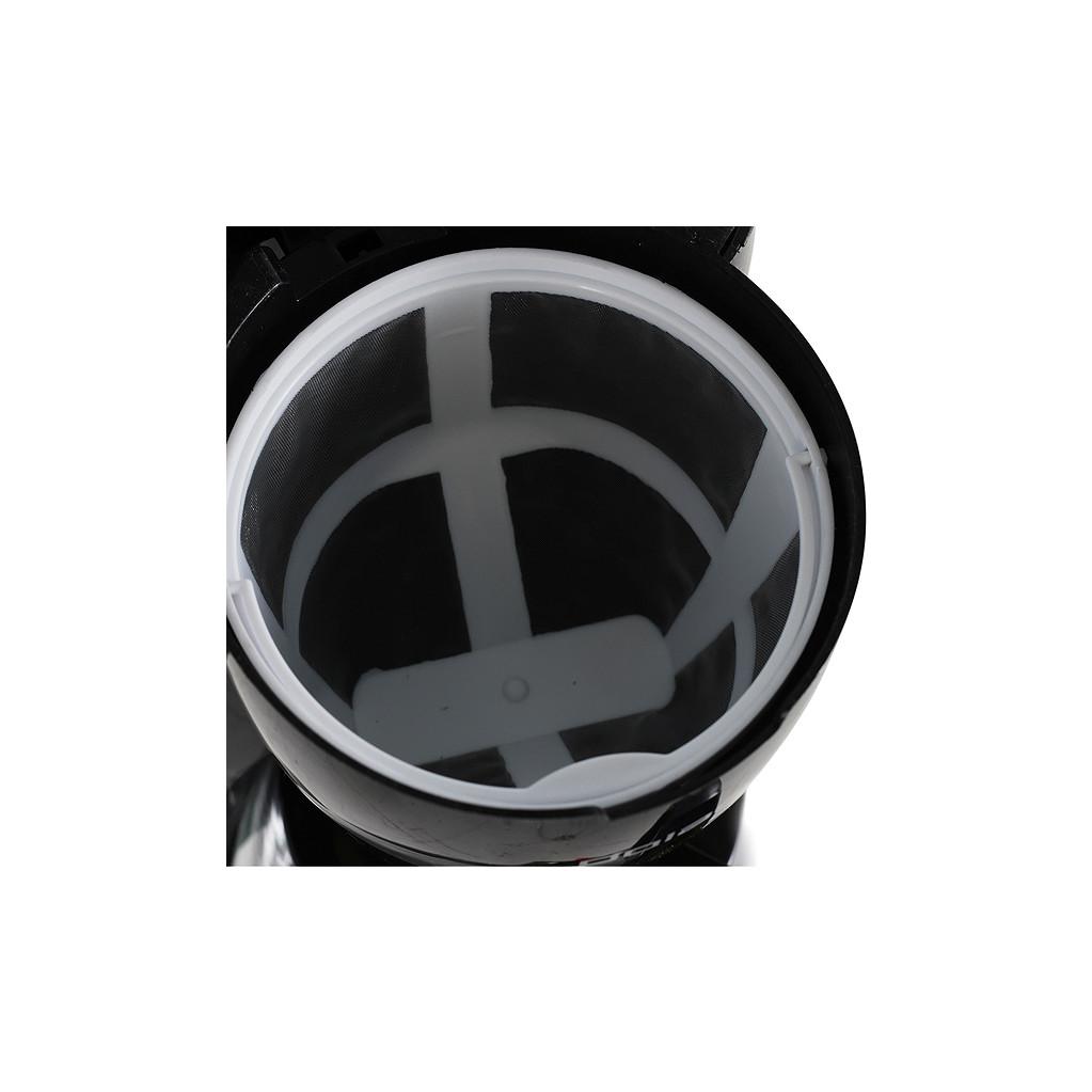Кофеварка капельная Polaris PCM1211 800Вт черный/салатовый