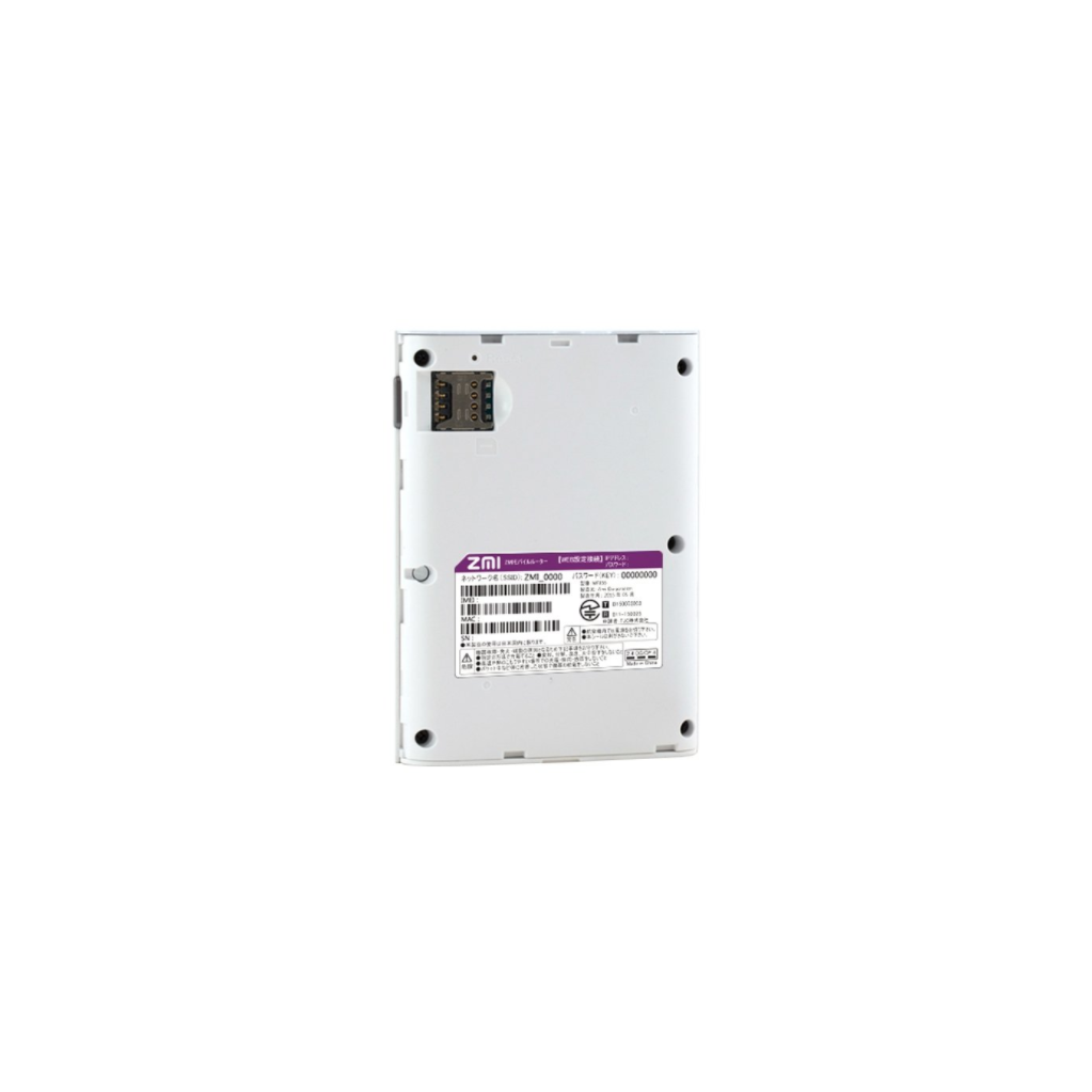 Роутер Xiaomi ZMI MF855 4G белый