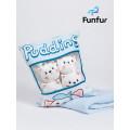 Игрушка подушка с пледом Funfur Pudding
