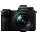 Фотоаппарат Panasonic Lumix DC-S1RMEE-K kit LUMIX S 24-105 мм F4 MACRO O.I.S. черный