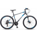 Велосипед Stels Navigator 590 D K010 Серый/Синий (LU094326)