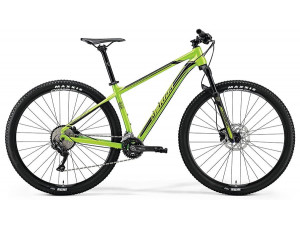 "Велосипед Merida Big Nine 500 Green (Black) 2019 L(18,5"")(72529)"