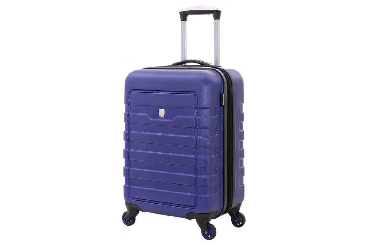 Чемодан WENGER TRESA, синий, АБС-пластик, 35x24x54 см, 38 л , WG6581343154
