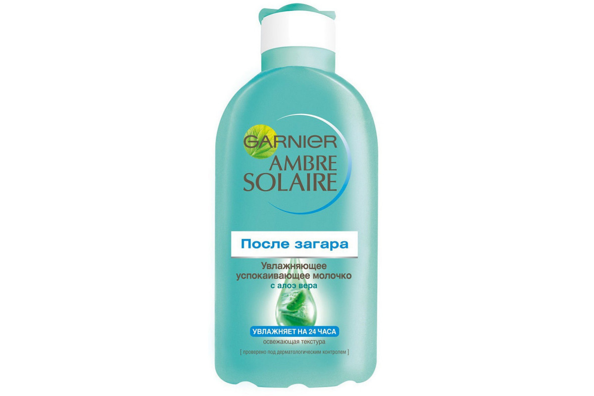 Garnier Ambre Solaire После загара Увлажняющее молочко 200мл