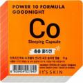 It's Skin Ночная маска-капсула Power 10 Formula Goodnight, коллагеновая, 5г