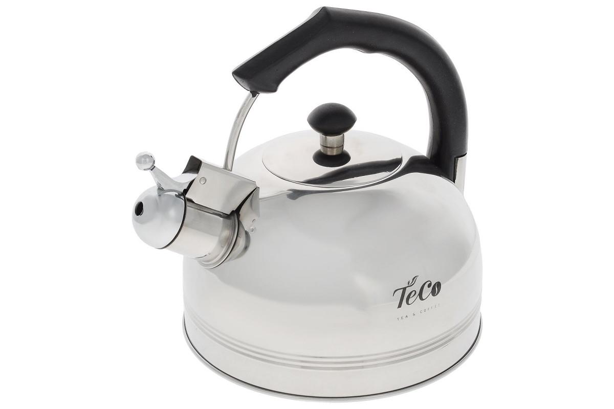 Чайник TECO TC-112 (3,0л,со свистком нерж.стали,c капсульным дном)