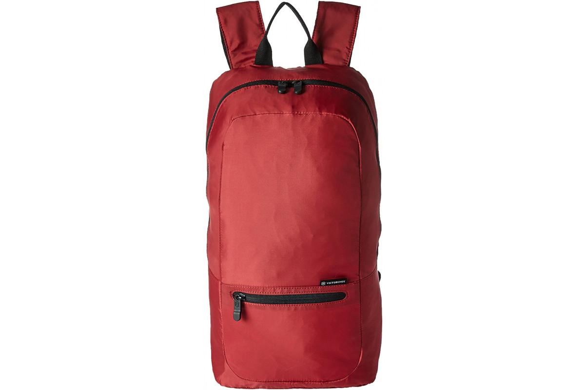 Складной рюкзак Victorinox Packable Backpack, красный, 25x14x46 см, 16 л, 601496