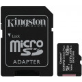 Карта памяти Kingston SDXC Canvas Select Plus Class 10 UHS-I U3 (100/85MB/s) 128GB