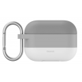 Чехол Baseus, силиконовый с градиентом, для Apple Airpods 3 / Airpods Pro, серый