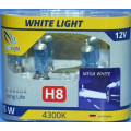 Лампа галогеновая Clearlight H8 WhiteLight 2 шт, DUOBOX