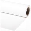 Фон бумажный Vibrantone 1,35х6м White 01, белый