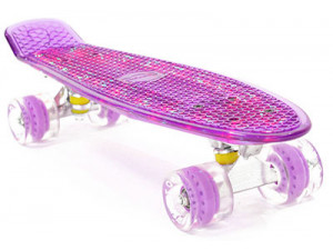 PWSport Flash 22 Скейтборд (фиолетовый)