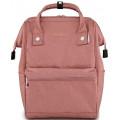 "Рюкзак-сумка Himawari HW-2261 темно-розовый, 14"""