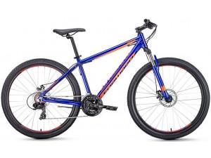 "Велосипед 27.5"" Forward Apache 2.0 Disc Синий/Оранжевый 18-19 г 21'"