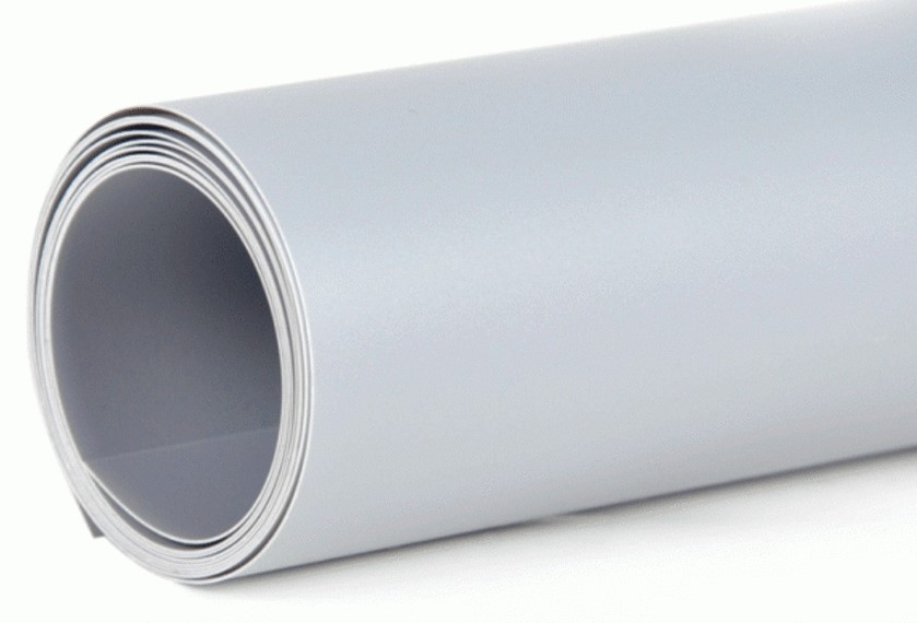 Фон пластиковый FST 100х120 серый матовый Уценка 2143