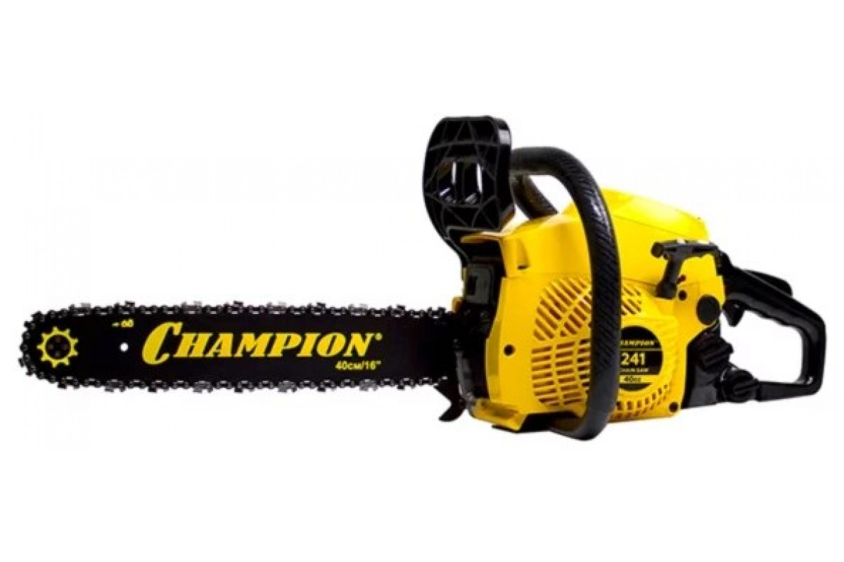 Бензопила Champion 241-16''-3/8-1.3-56 1.8кВт легкий старт 4.7кг