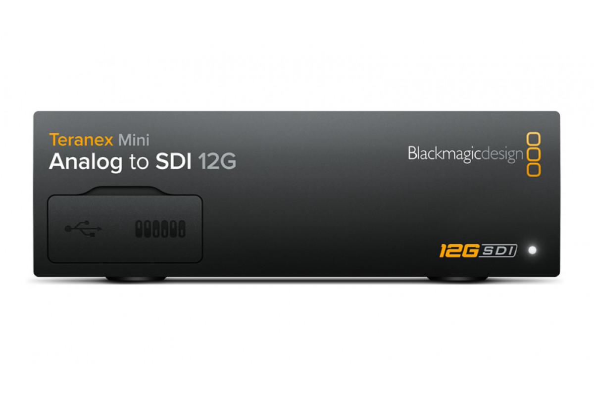 Конвертор Blackmagic Teranex Mini - Analog to SDI 12G