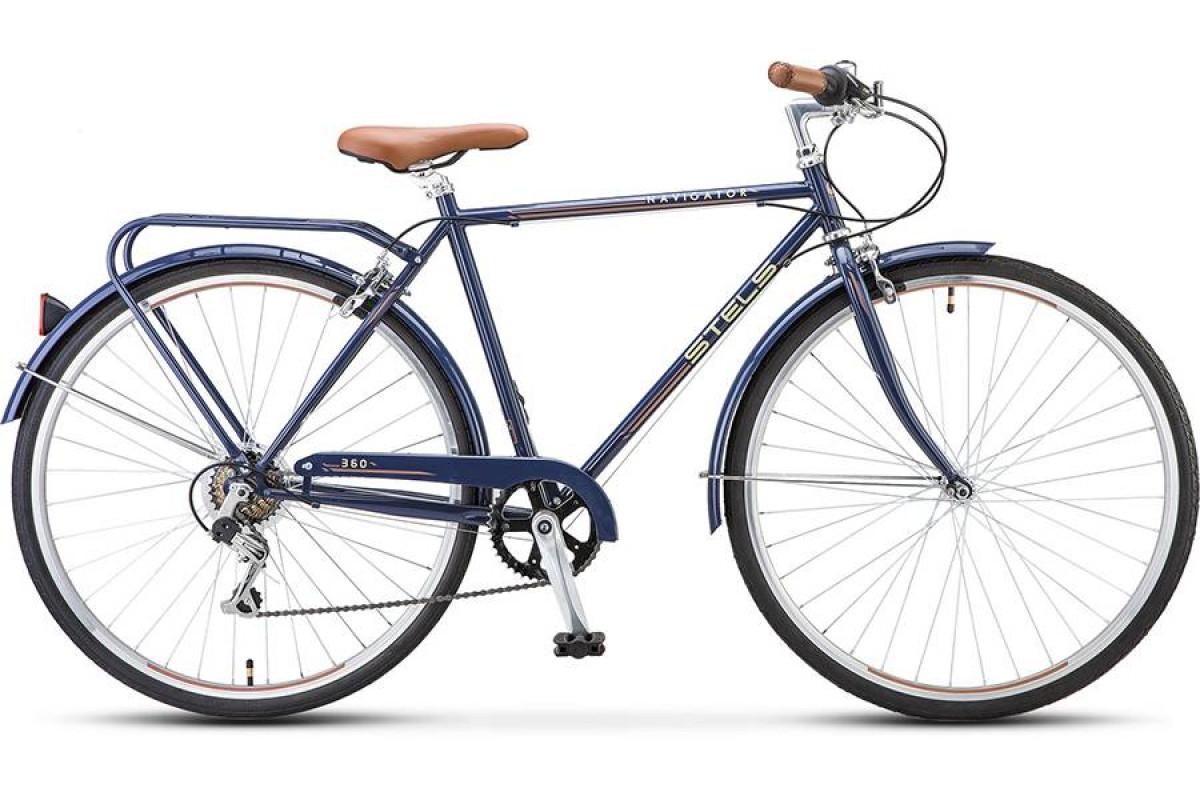 "Велосипед Stels Navigator 28"" 360 V010 Синий (LU088238) 21,5"""