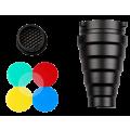 Насадка FST SN-200 узкоугольная с сотой и цветными фильтрами