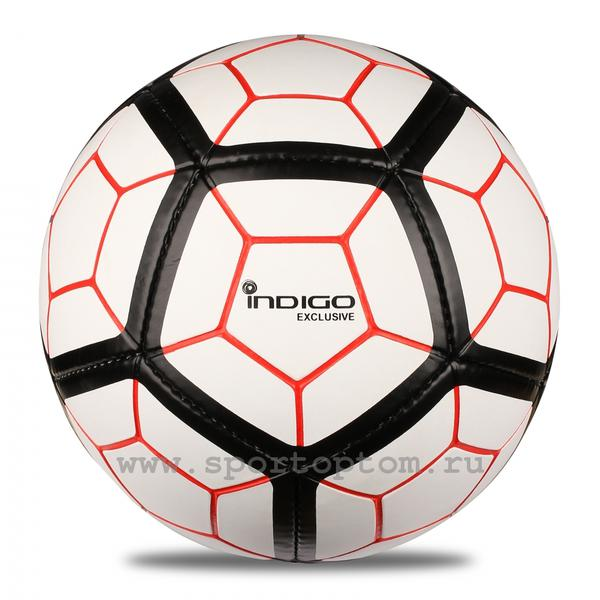Мяч футбольный №5 Indigo EXCLUSIVE FG 5
