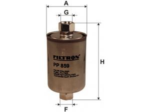 Фильтр топливный FILTRON  PP859 для DAEWOO Nex/Esp