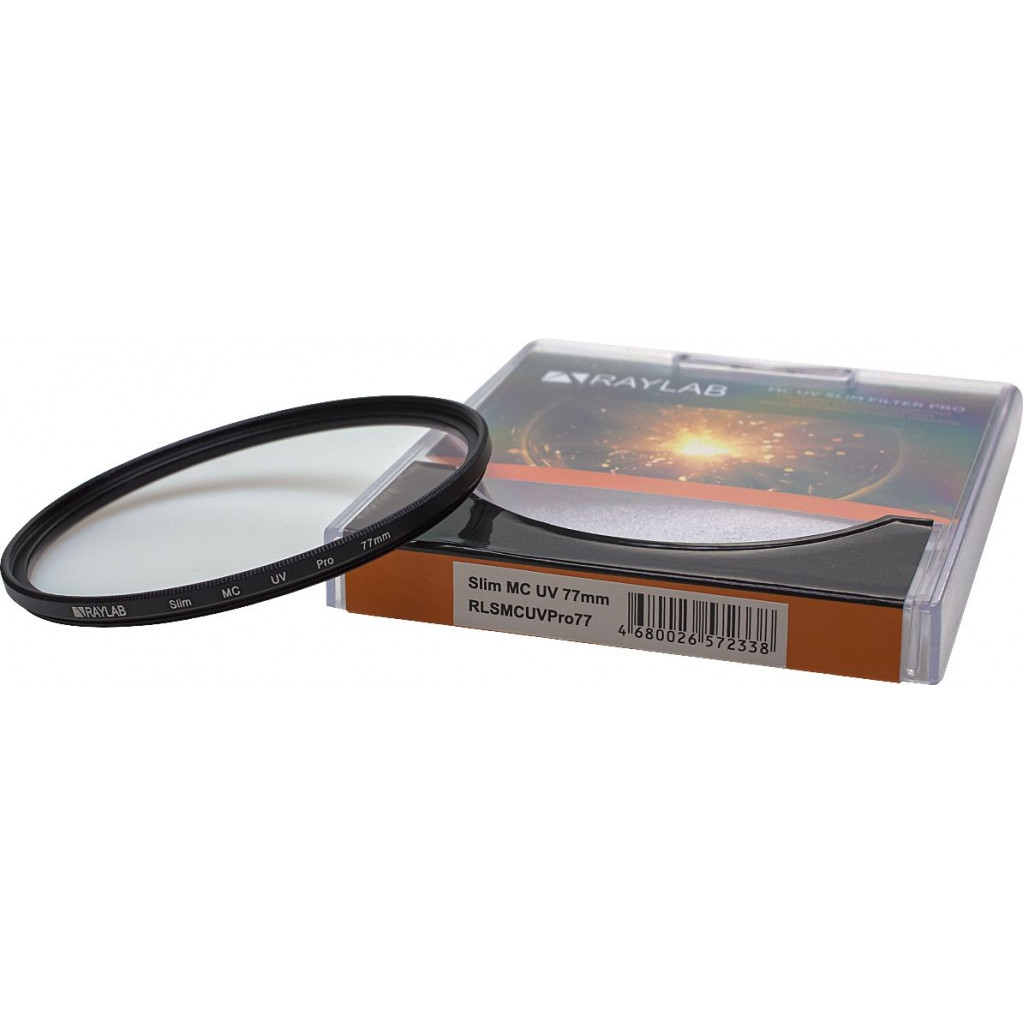 Фильтр защитный ультрафиолетовый RayLab UV MC Slim Pro 77mm