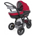 Chicco Trio Active 3 - коляска 3 в 1 Red Berry