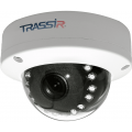 Видеокамера IP Trassir TR-D3121IR1 3.6-3.6мм цветная корп.:белый