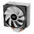 Кулер для процессора Deepcool GAMMAXX GT BLACK Soc-FM2+/AM2+/AM3+/AM4/1150/1151/1155/2011/ 4-pin 18-27dB Al 150W 870gr LED Ret
