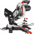 Пила торцовочная, ЗУБР ЗПТ-255-1800 ПЛ, d= 255 x 30 мм, 1800 Вт, 5000 об/мин, с протяжкой, лазер, удлинители стола