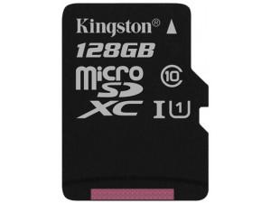 Карта памяти Kingston microSDXC 128GB Class10 UHS-I Canvas Select до 80Mb/s без адаптера купить в интернет-магазине Фотосклад.ру, цена, отзывы, видео обзоры