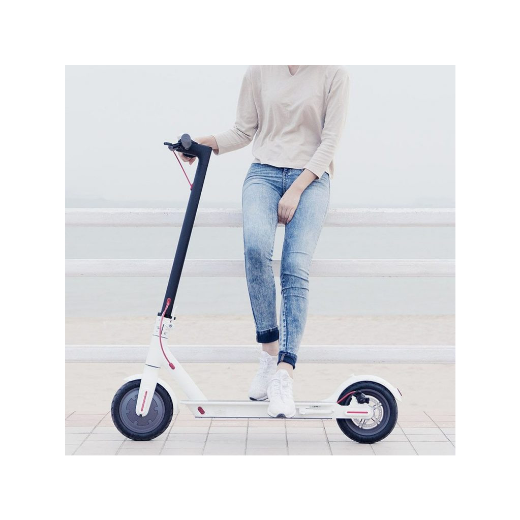 Электросамокат Xiaomi Mijia Electric Scooter 1S, белый