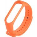 Ремешок силиконовый для Mi Band 5/6, оранжевый
