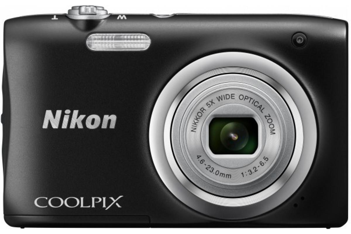 Цифровой фотоаппарат Nikon Coolpix A100, черный