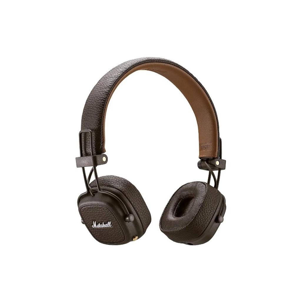 Наушники Marshall Major III Bluetooth, коричневый