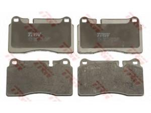 Колодки тормозные передние TRW  GDB1743 для LAND ROVER Sport