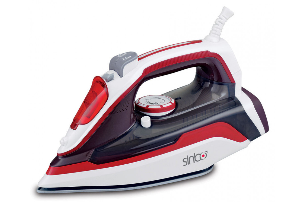 Утюг Sinbo SSI 2898 2400Вт красный/белый