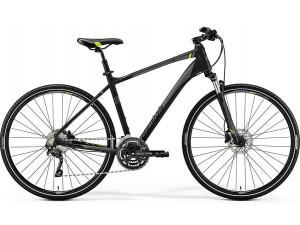 Велосипед Merida Crossway 300 MattBlack (Green) 2019 M(51см)(73274)